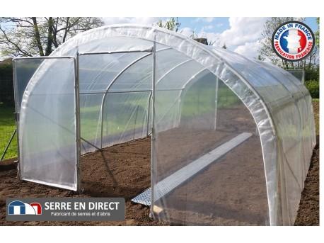 Serre de jardin dolmen 400 - Fabriquer une serre tunnel de jardin ...