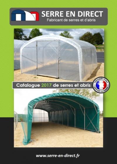 catalogue de serre de jardin 2017