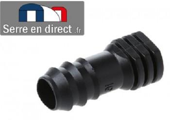 Bouchon tuyau arrosage 16mm.