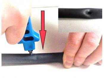 Poignée de perçage pour tuyau PE