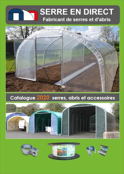 catalogue de serre de jardin 2020