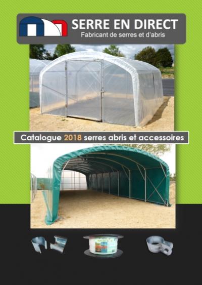 catalogue de serre de jardin 2018
